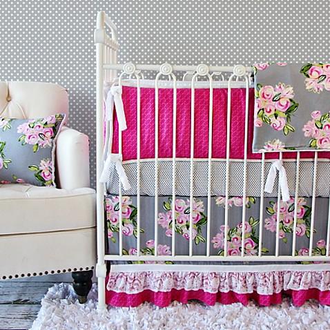 Buy Caden Lane 174 Vintage Floral Crib Bedding Set From Bed