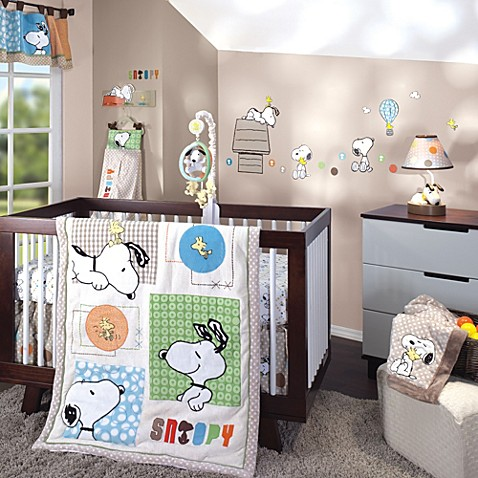 Lambs Amp Ivy 174 Bff Snoopy Crib Bedding Collection Buybuy Baby