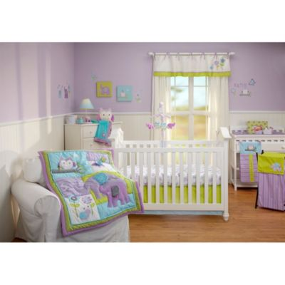 NoJo® Dreamland 4-Piece Crib Bedding Set