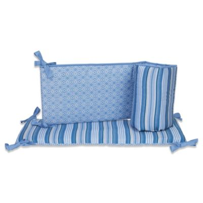 kidsline™ Dena Indigo Crib Bumper