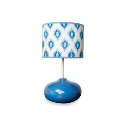 kidsline™ Dena Indigo Lamp Base and Shade
