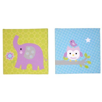 NoJo® Dreamland 2-Piece Canvas Art