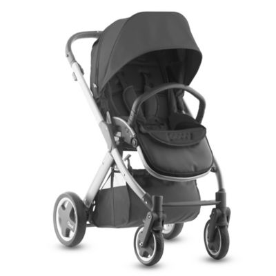 Joovy® Qool Single Stroller with Silver Frame in Black