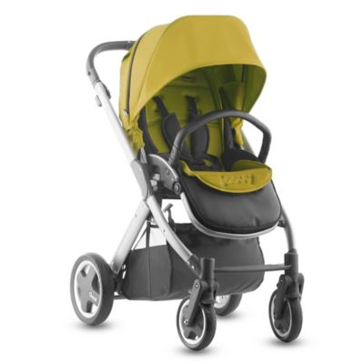 Joovy® Qool Single Stroller with Silver Frame in Avocado