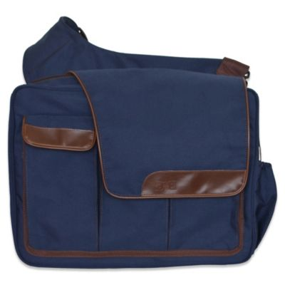 Diaper Dude® Messenger II Diaper Bag in Navy