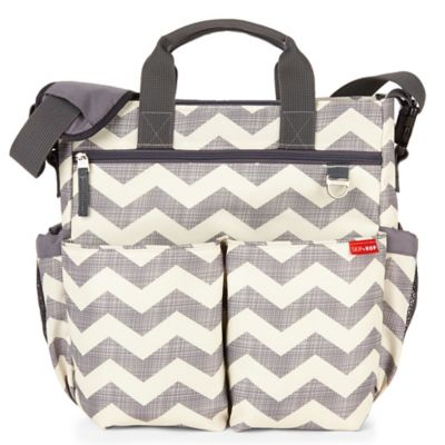 SKIP*HOP® Duo Signature Diaper Bag in Chevron