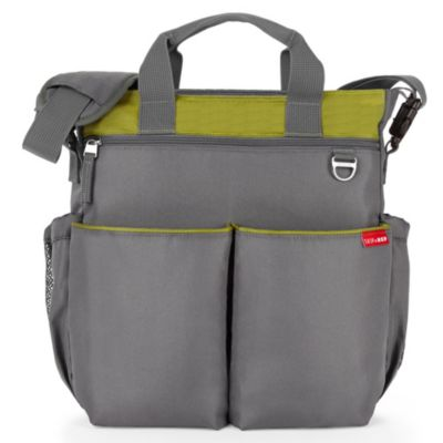 SKIP*HOP® Duo Signature Diaper Bag in Lime