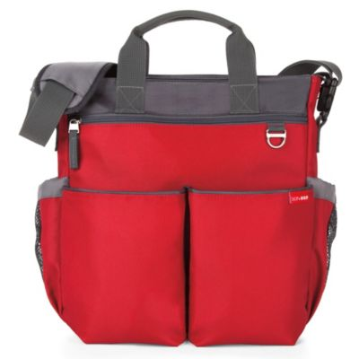 SKIP*HOP® Duo Signature Diaper Bag in Red