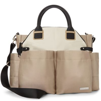 SKIP*HOP® Chelsea Diaper Bag in Champagne