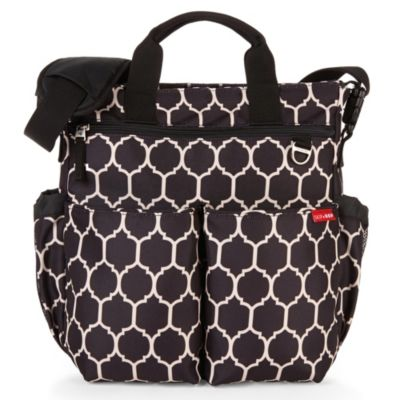 SKIP*HOP® Duo Signature Diaper Bag in Onyx Tile