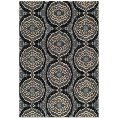 Momeni Habitat 3-Foot 3-Inch x 5-Foot 6-Inch Rug in Denim