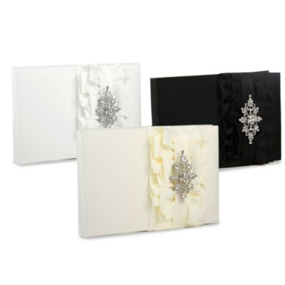 Ivy Lane Design Isabella Guest Book in Black