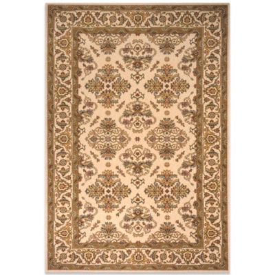Momeni Persian Garden 2-Foot 6-Inch x 8-Foot Ivory Rug