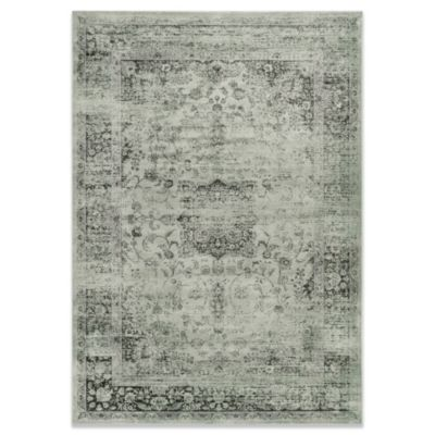 "Safavieh Palace 4' x 5'7"" Accent Rug in Spruce and Ivory"