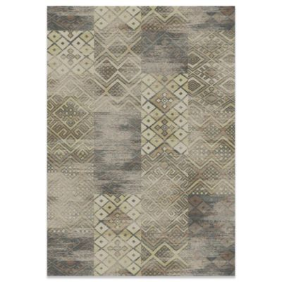 "Safavieh Vintage Patchwork 3'3"" x 5'7"" Accent Rug in Stone"