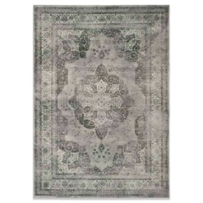 Eloquence 2-Foot 2-Inch x 10-Foot Vintage Grey Rug