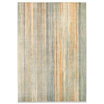 "Safavieh Vintage Ombre 6'7"" x 9'2"" Accent Rug in Light Blue"