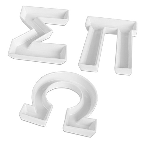 Ivy lane designtm greek letter candy dish bed bath beyond for Greek letters for sale