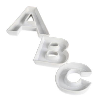 "Ivy Lane Design™ Ceramic Letter ""C"" Candy Dish"