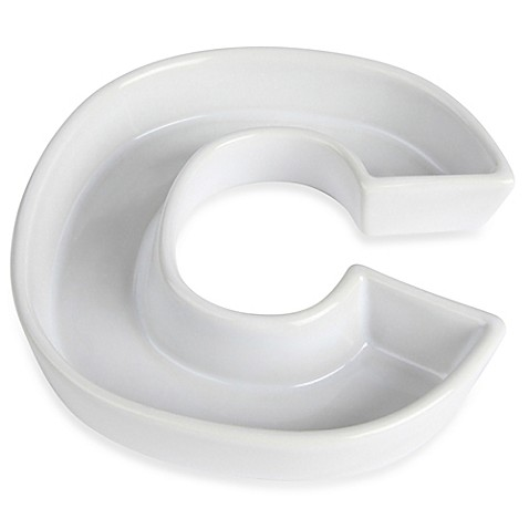 Lane Design    Ceramic Letter C Candy Dish from Bed Bath   Beyond ndib2Z5v