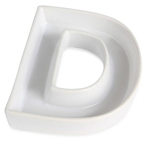 Ivy Lane Design    Ceramic Letter D Candy Dish lx5USHdi