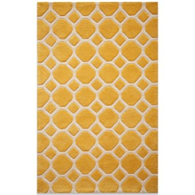 Momeni Bliss 8-Foot x 10-Foot Rug in Gold