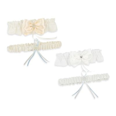 Ivy Lane Design™ Nostalgia Bridal Garter Set in Ivory