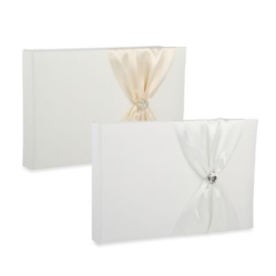 Ivy Lane Design™ Nostalgia Guest Book in Ivory