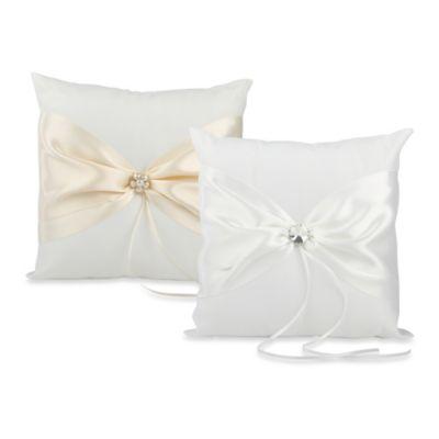 Ivy Lane Design™ Nostalgia Ring Pillow in Ivory
