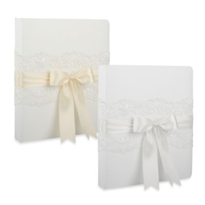 Ivy Lane Design™ Chantilly Lace Memory Book in White