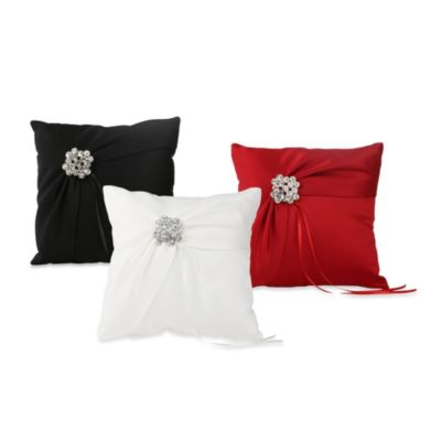 Ivy Lane Design Garbo Ring Pillow in Claret