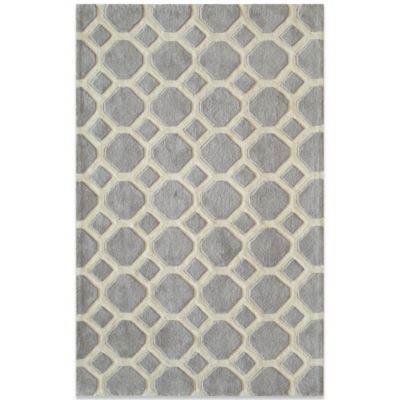 Bliss 2-Foot x 3-Foot Rug in Grey