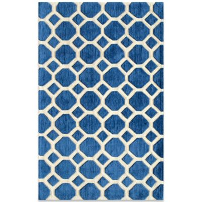 Momeni Bliss 3-Foot 6-Inch x 5-Foot 6-Inch Rug in Navy
