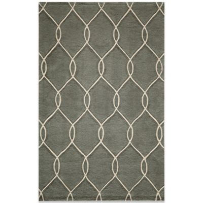 Momeni Bliss 5-Foot x 7-Foot 6-Inch Rug in Steel