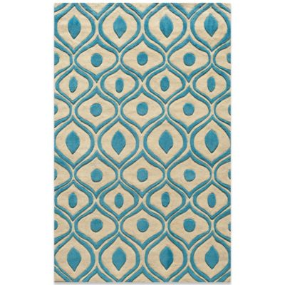 Momeni Bliss 5-Foot x 7-Foot 6-Inch Rug in Blue