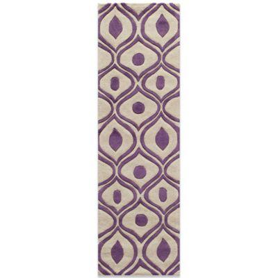 Momeni Bliss 2-Foot 3-Inch x 8-Foot Rug in Purple