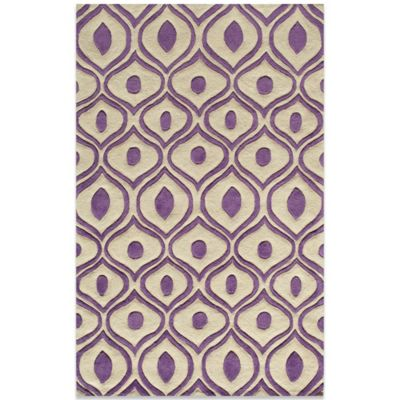 Momeni Bliss 8-Foot x 10-Foot Rug in Purple