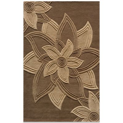 Momeni Delhi 5-Foot x 8-Foot Rug in Mocha