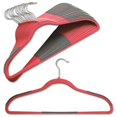 Studio 3B™ Slim Grips™ Hangers in Spiced Coral (Set of 16)