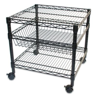 3-Tier Rolling Appliance Cart