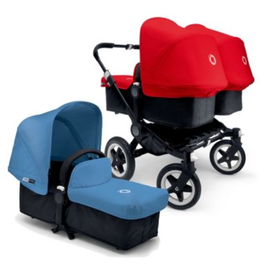 Bugaboo Donkey Canvas Tailored Fabric Set in Black