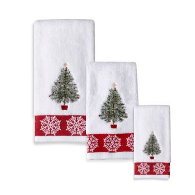 Traditional Tree Hand Towel