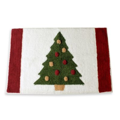 Traditional Tree Bath Rug