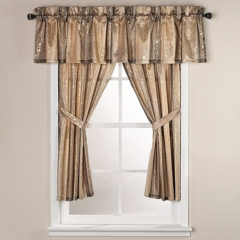 Bed Bath And Beyond Curtain Rod Pleated Sheer Curtains Wind
