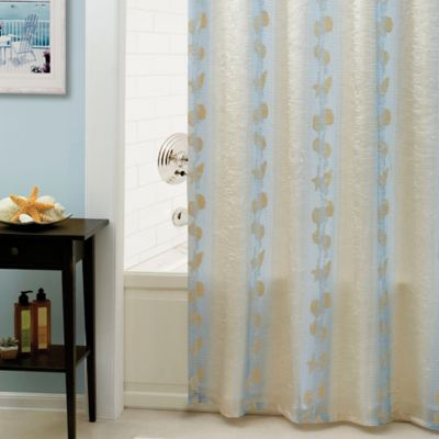 Sea Shell Bathroom Curtains