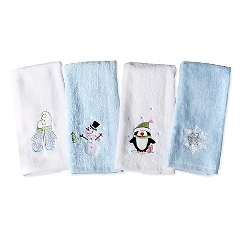 Winter 4 Piece Fingertip Towel Set Bed Bath Amp Beyond