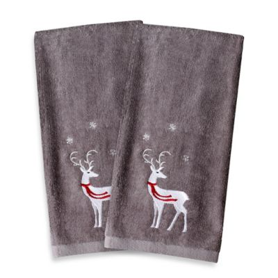 Christmas Bath Hand Towel