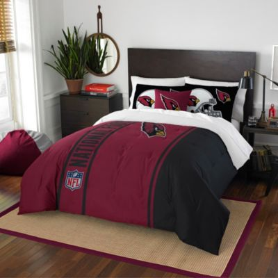 NFL Arizona Cardinals Full Embroidered Comforter Set