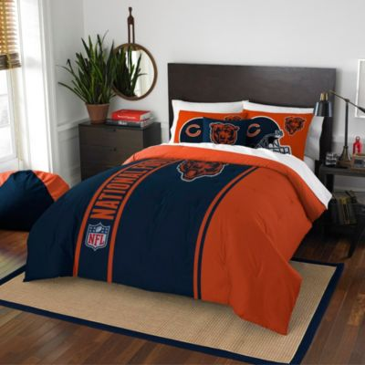 NFL Chicago Bears Twin Embroidered Comforter Set