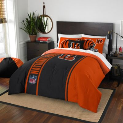 NFL Cincinnati Bengals Twin Embroidered Comforter Set